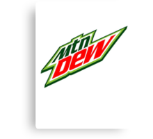 Do the Dew Shirts & Stickers Old School Canvas Print