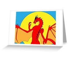 Annoth the Warrior Dragon Greeting Card