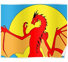 Annoth the Warrior Dragon Poster