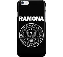 Ramona - White iPhone Case/Skin
