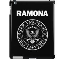 Ramona - White iPad Case/Skin