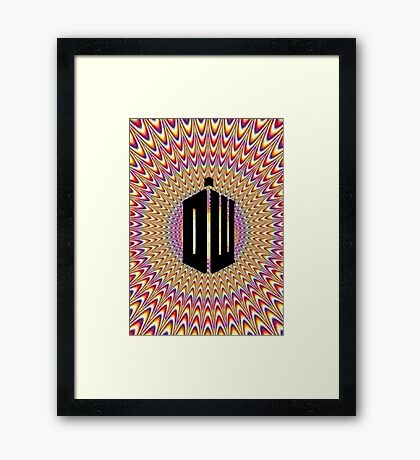 Doctor Who Trip Framed Print