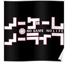 No Game, No Life Poster