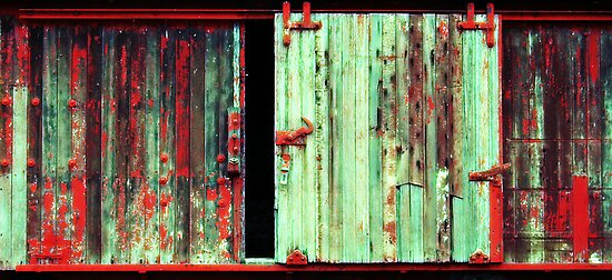What the hell is behind that door ! by Jared Revell