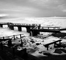 Stormy Seas by Herman Greffrath