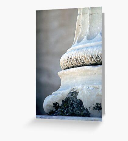 Ionic Pillar Greeting Card