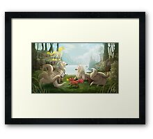 Pokémon Cinnabar Island Framed Print