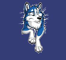 STUCK Husky Blue Unisex T-Shirt