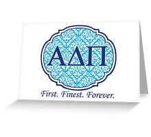Alpha Delta Pi Greeting Card