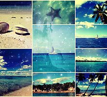 Starry Starry Caribbean Night Collage by stine1