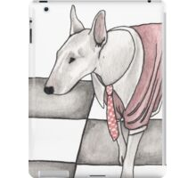 Bull terrier vector iPad Case/Skin
