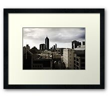 Melbourne buildings Framed Print