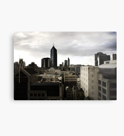 Melbourne buildings Metal Print