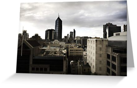 Melbourne buildings by Pirostitch