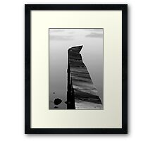 Old Jetty #2 Framed Print