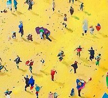Beach Party by Neil McBride by Neil McBride