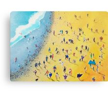 Beach Party by Neil McBride Canvas Print