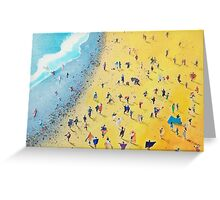 Beach Party by Neil McBride Greeting Card