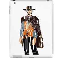 Blondie- The Good, The Bad and The Ugly iPad Case/Skin