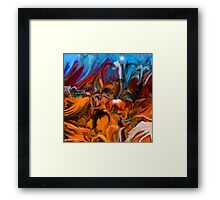 UP WHERE WE BELONG - Abstract34 Wall Art/Clothing & Stickers+Pillows & Totes+Cases+Mugs+Cards  Framed Print