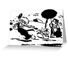 Krazy Kat & Ignatz Pulp Fiction Greeting Card