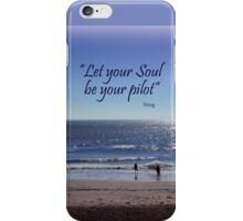 Evening at the Beach iPhone Case/Skin