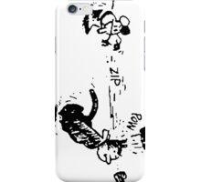 Krazy Kat and Ignatz iPhone Case/Skin