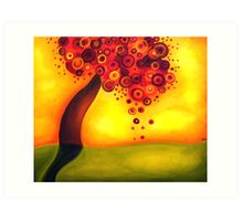 One Tree Hill Art Print