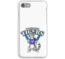 Team WHITE TIGER (blue) iPhone Case/Skin