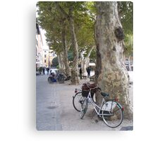Lucca, carless city Canvas Print
