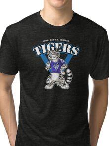Team WHITE TIGER (blue) Tri-blend T-Shirt