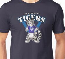 Team WHITE TIGER (blue) Unisex T-Shirt