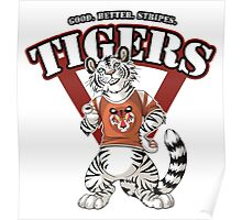 Team WHITE TIGER (red) Poster