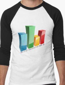 Statistics Men's Baseball ¾ T-Shirt