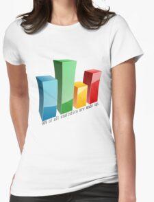 Statistics Womens Fitted T-Shirt