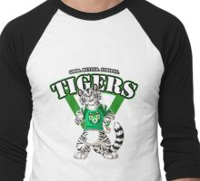 Team WHITE TIGER (green)  Men's Baseball ¾ T-Shirt