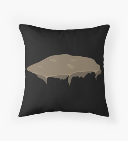 Glitch Groddle Land heights topper 2 Throw Pillow