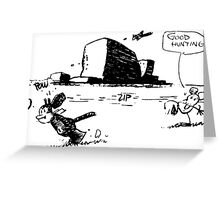 Krazy Kat Greeting Card