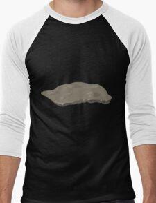 Glitch Groddle Land heights topper stone 1 Men's Baseball ¾ T-Shirt