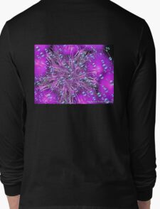 Electronic Fireworks and Bubbles Long Sleeve T-Shirt