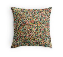 Pixel Art Pattern Throw Pillow