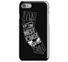 Down On The West Coast... Pt II iPhone Case/Skin