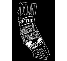 Down On The West Coast... Pt II Photographic Print