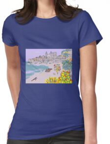A view of Cefalu' Womens Fitted T-Shirt