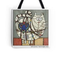 Cat Mummy Tote Bag