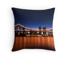 Brisbane's Story Bridge Throw Pillow