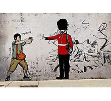 Middle Finger Street Art London Urban Wall Graffiti Artist Prolifik Photographic Print