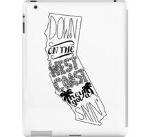 Down On The West Coast... iPad Case/Skin