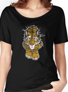 STUCK - Brown Tiger Women's Relaxed Fit T-Shirt