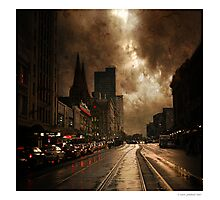 Dirty Old Town Photographic Print